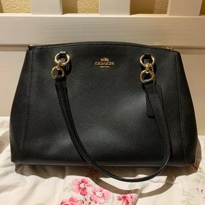Coach Christie Carryall in Crossgrain Leather Bag